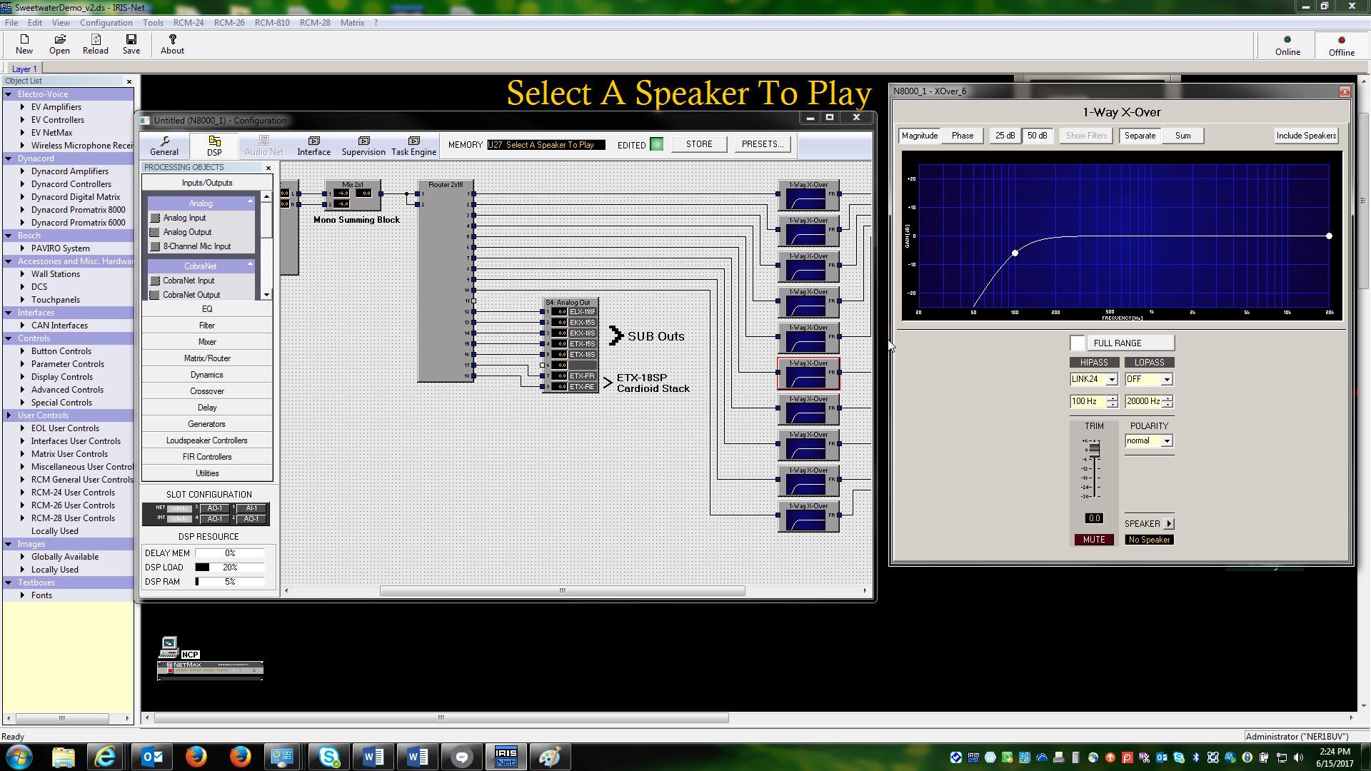 IRIS‑Net Integrated software platform for remote
